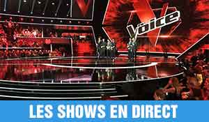 the voice les shows en direct