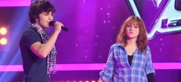 """""""The Voice"""" : regardez le duo de Juien et Pauline sur """"Il nous faut"""""""