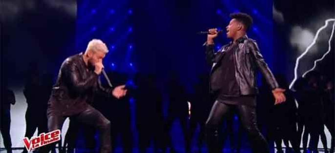 "Replay ""The Voice"" : Lisandro Cuxi & Matt Pokora « Cry Me A River » en finale (vidéo)"