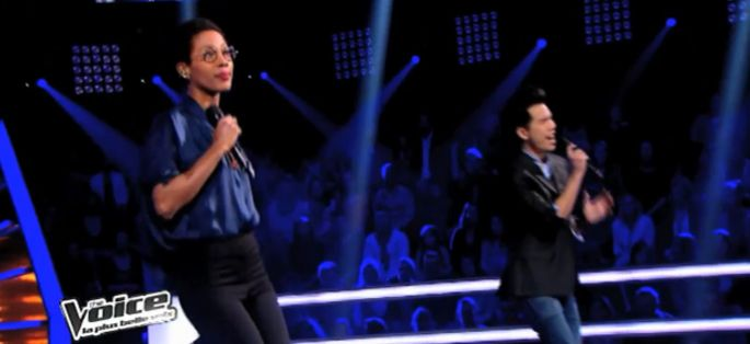 "Replay ""The Voice"" : la battle La Petite Shadé / Rich Ly sur « Burn » de Ellie Goulding (vidéo)"
