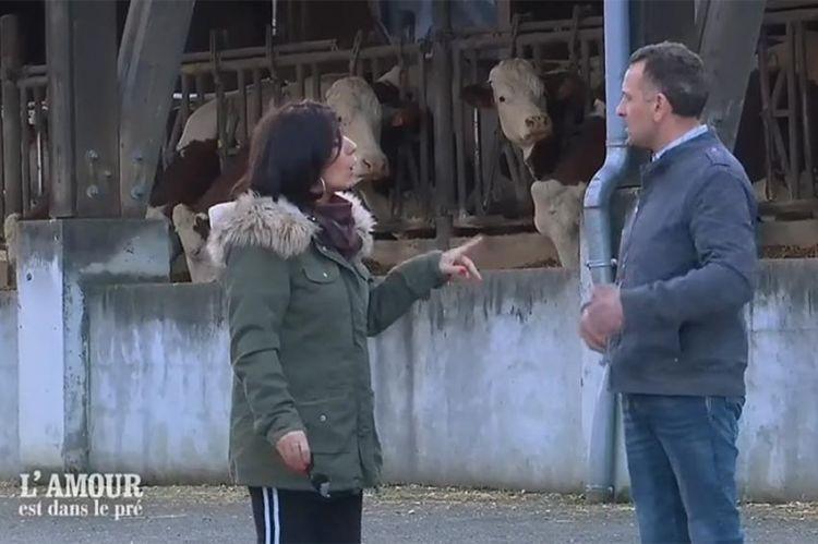 """Extrait - """"L'amour est dans le pré"""" : la situation échappe à Isabelle, elle quitte la ferme..."""