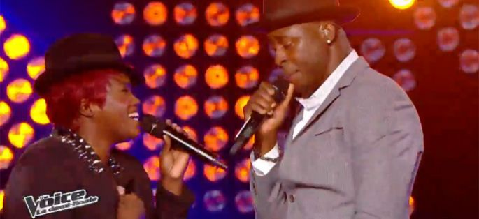 "Replay ""The Voice"" : Wesley et Stacey King chantent « Locked Out of Heaven » de Bruno Mars (vidéo)"