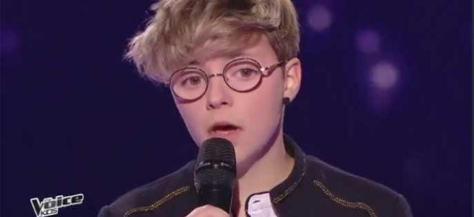 """Replay """"The Voice Kids"""" : Amandine chante « Time after time » de Cindy Lauper (vidéo)"""