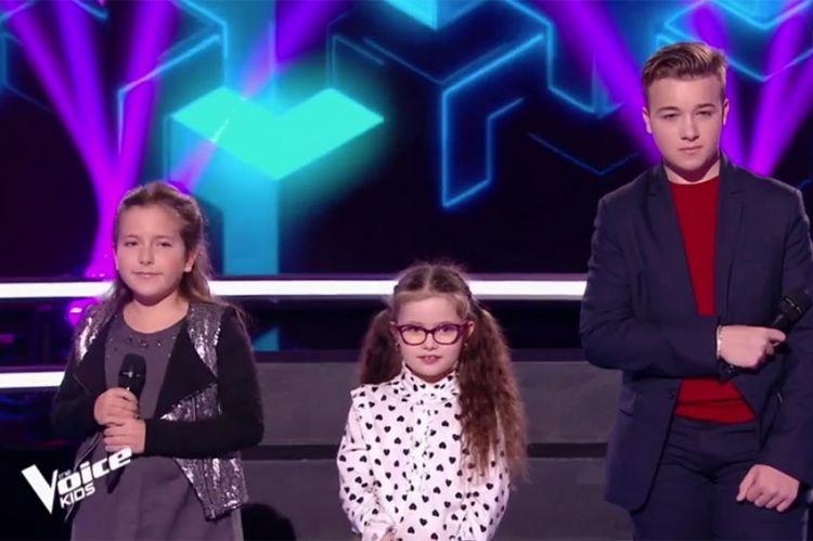 """Replay """"The Voice Kids"""" : battle Enzo, Emma & Marie sur « Tous les cris les SOS » de Daniel Balavoine (vidéo)"""