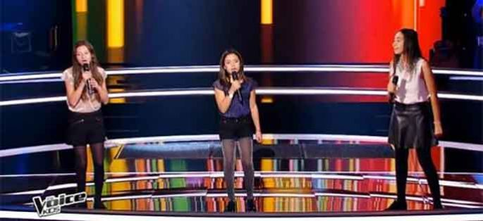 "Replay ""The Voice Kids"" : battle Maé, Leena, Maha « Next to Me » de Emilie Sandé (vidéo)"