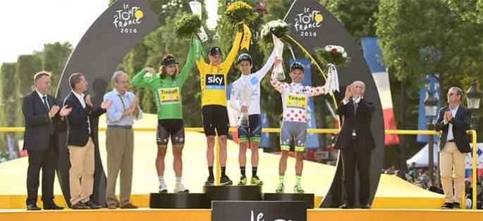 Tour de France 2016 : audiences au sommet pour France 2 & France 3