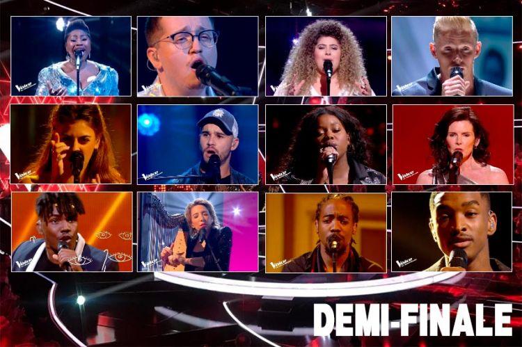 The Voice 2020 : quels candidats sont en demi-finale ?