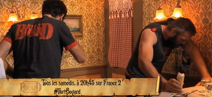 """Fort Boyard"" : Sébastien Chabal mal en point dans le resto gastro-nomique de Willy Rovelli ! (vidéo)"
