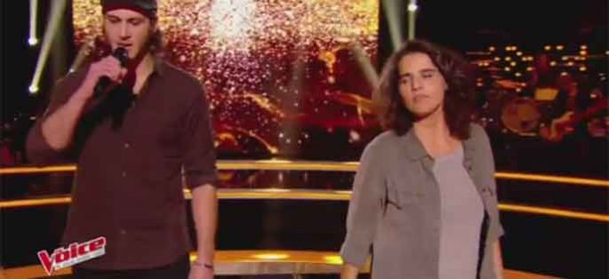 "Replay ""The Voice"" : Battle Marianne Aya Omac / Romain « Un homme debout » de Claudio Capéo (vidéo)"
