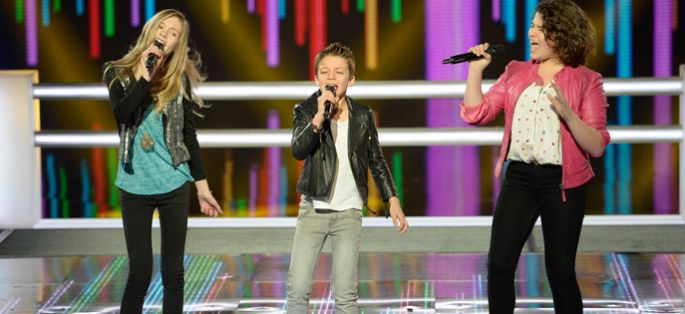 "Replay ""The Voice Kids"" : battle Coline, Arthur et Julia sur « I Wanna Dance With Somebody » (vidéo)"