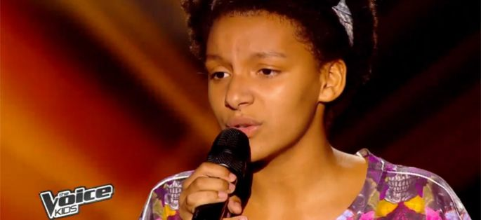 "Replay ""The Voice Kids"" : Justine interprète « Treasure » de Bruno Mars (vidéo)"