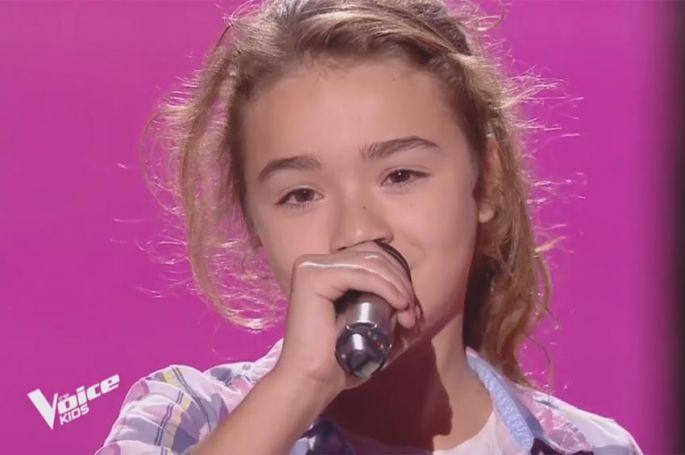 """Replay """"The Voice Kids"""" : Maïssa chante « Ma philosophie » d'Amel Bent (vidéo)"""