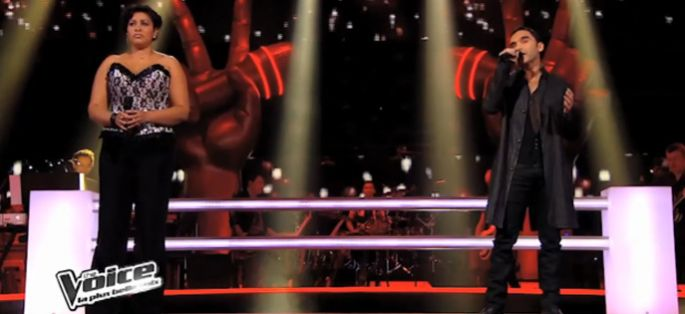 "Replay ""The Voice"" : la battle entre Fabienne & Akram sur Life on Mars » de David Bowie (vidéo)"