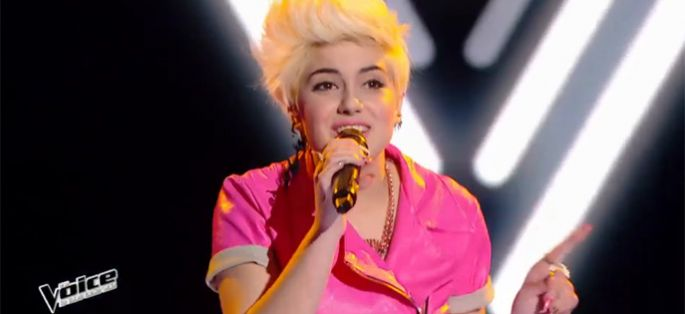"Replay ""The Voice"" : Elvya chante « Girls Just Want To Have Fun » de Cyndi Lauper (vidéo)"