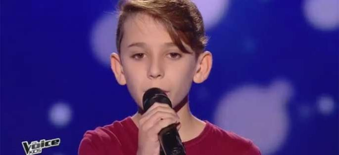 "Replay ""The Voice Kids"" : Cyril chante « When we were young » d'Adele (vidéo)"