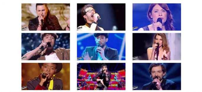 "Replay ""The Voice"" samedi 23 avril : les prestations des 16 talents du 1er prime en direct (vidéos)"