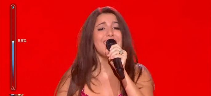 "Replay ""Rising Star"" : Anne-Sophie Terschan interprète « All I Want For Christmas » de Mariah Carey (vidéo)"