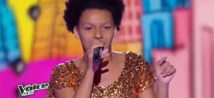 "Replay ""The Voice Kids"" : Justine interprète « Think » de Aretha Franklin en finale (vidéo)"