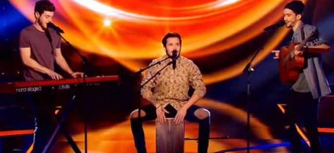"Replay ""The Voice"" : le trio Arcadian chante « Carmen » de Stromae (vidéo)"