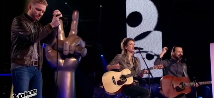 "Replay ""The Voice"" : La Battle Fergessen / Guilhem sur « Help Myself » de Gaëtan Roussel (vidéo)"