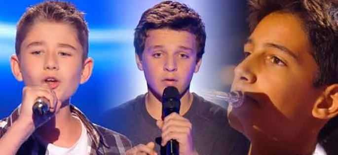 "Replay ""The Voice Kids"" : les prestations d'Esteban, Leny & Rodrigue (vidéo)"