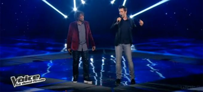 "Vidéo Replay ""The Voice"" : Yoann Fréget et Emmanuel Djob « Many Rivers to Cross »"