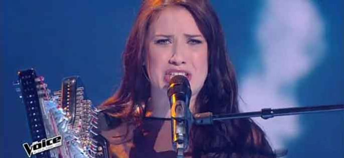 "Replay ""The Voice"" : Lena Woods interprète « Lettre à France » de Michel Polnareff (vidéo)"