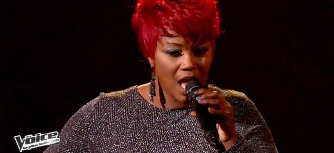 "Replay ""The Voice"" : Stacey King chante « Rolling in the Deep » d'Adele (vidéo)"