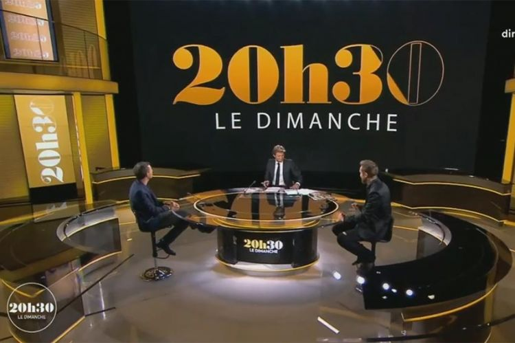 """""""20h30, le dimanche"""" : les invités de Laurent Delahousse dimanche 21 octobre sur France 2"""