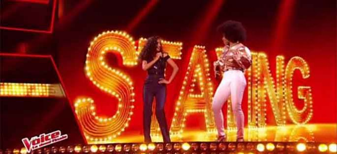 "Replay ""The Voice"" : Shaby & Lucie chantent « Stayin' Alive » des Bee Gees (vidéo)"