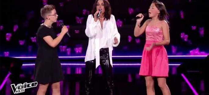 """Replay """"The Voice Kids"""" : Jenifer, Leelou & Amandine « Les filles d'aujourd'hui » (vidéo)"""