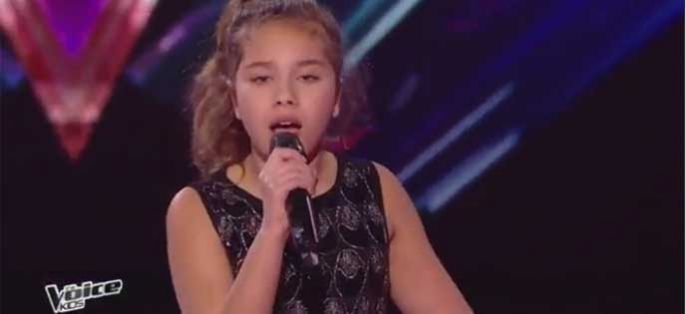 "Replay ""The Voice Kids"" : Ilyana chante « No One » d'Alicia Keys (vidéo)"