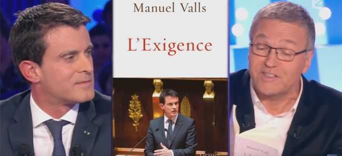 Replay on n 39 est pas couch revoir l 39 interview de manuel valls vid o - Manuel valls on n est pas couche ...