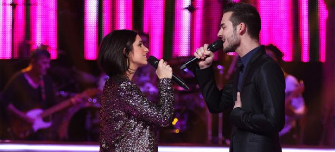 "Vidéo Replay ""The Voice"" : regardez la Battle entre Alexandra Lucci et Michael Lelong"