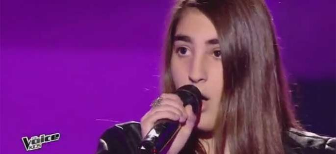 "Replay ""The Voice Kids"" : Tiny chante « Are we awake » de Tal (vidéo)"