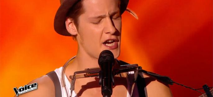 "Replay ""The Voice"" : Max Blues Bird interprète « Love Me Anymore » (vidéo)"
