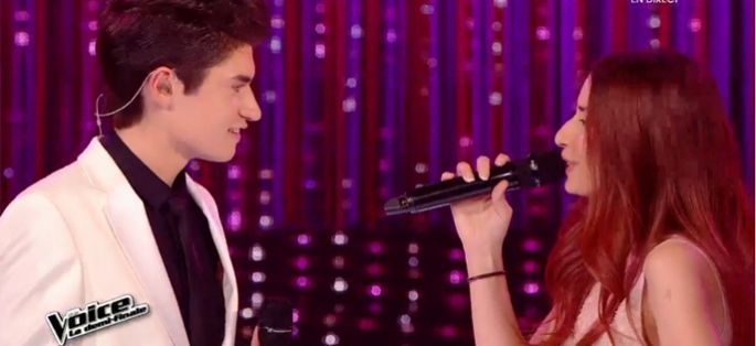"Replay ""The Voice"" : Hiba Tawaji & David Thibault « Something Stupid » de Robbie Williams (vidéo)"