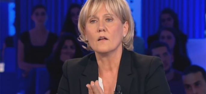 Replay on n 39 est pas couch nadine morano et ses propos chocs sur la race blanche vid o - On n est pas couches replay ...
