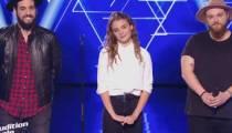 """Replay """"The Voice"""" : l'audition finale de Aurélien, Alliel et Maëlle (vidéo)"""