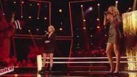 "Replay ""The Voice"" : Battle Lidia Isac / Kap's « When a Man Loves a Woman » (vidéo)"