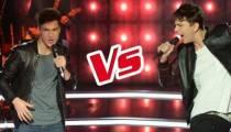 """Replay """"The Voice"""" : La Battle Antoine / Hadrien « Eteins la lumière » d'Axel Bauer (vidéo)"""