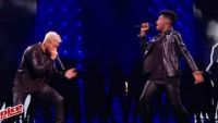 "Replay ""The Voice"" : Lisandro Cuxi & Matt Pokora « Cry Me A River » en finale (vidéo)"