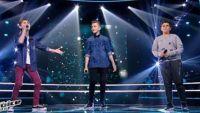"""Replay """"The Voice Kids"""" : battle Tiago, Amani, Diego « Le chant des sirènes » de Fréro Delavega (vidéo)"""