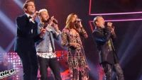 """""""The Voice"""" : les coachs chantent « Sympathy For the Devil » pour ouvrir la saison 6 (vidéo)"""