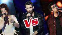 """Replay """"The Voice"""" : l'épreuve ultime de Mood, Lukas K. Abdul et Sol (vidéo)"""