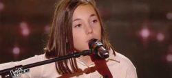 """Replay """"The Voice Kids"""" : Pauline chante « Encore un soir » de Céline Dion (vidéo)"""