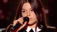"""Replay """"The Voice"""" : Eléa chante « Les moulins de mon cœur » de Michel Legrand (vidéo)"""