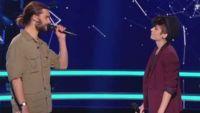 """Replay """"The Voice"""" : Battle Damien / Chloé « Déjeuner en paix » de Stephan Eicher (vidéo)"""