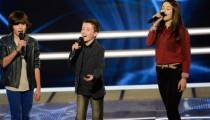 "Replay ""The Voice Kids"" : battle Lisandru, Emeline et Johan sur « Yalla » de Calogero (vidéo)"