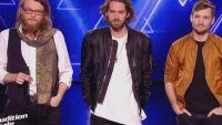 """Replay """"The Voice"""" : l'audition finale de Matthias Piaux, Simon Morin et Guillaume (vidéo)"""